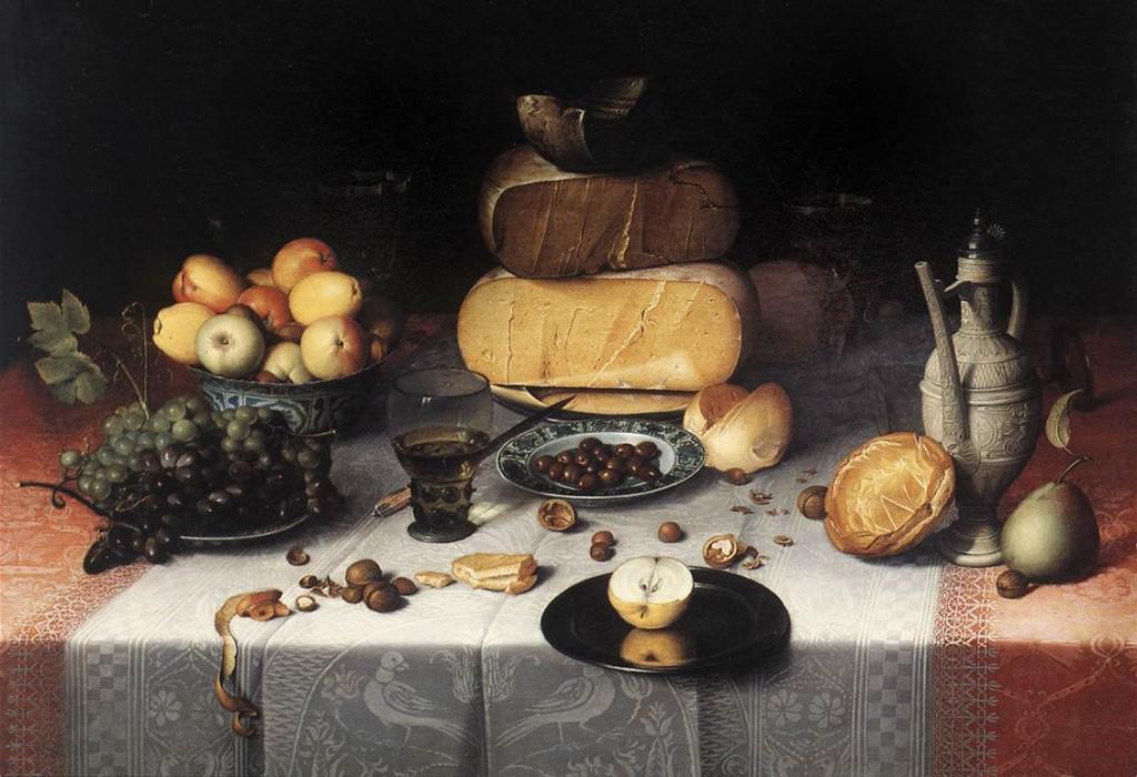 van dijck - natura morta 1613