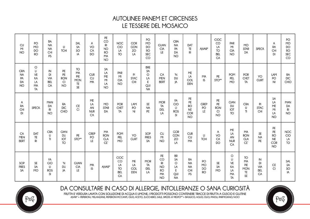 Autolinee PeC tabella